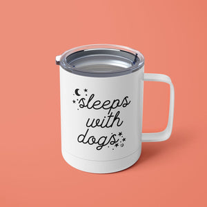 Sleeps with Dogs 15oz Tumbler
