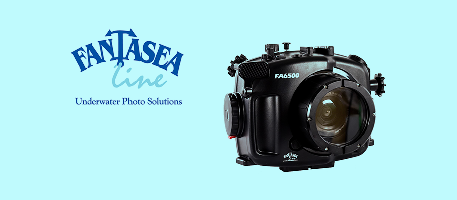 16 March 2017: Fantasea FA6500 Housing for the Sony a6500 and a6300