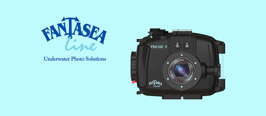 11 May 2017: Fantasea FRX100 V Housing for Sony RX100 MK III, IV & V