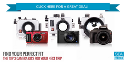 Ikelite Top Three Camera Kits