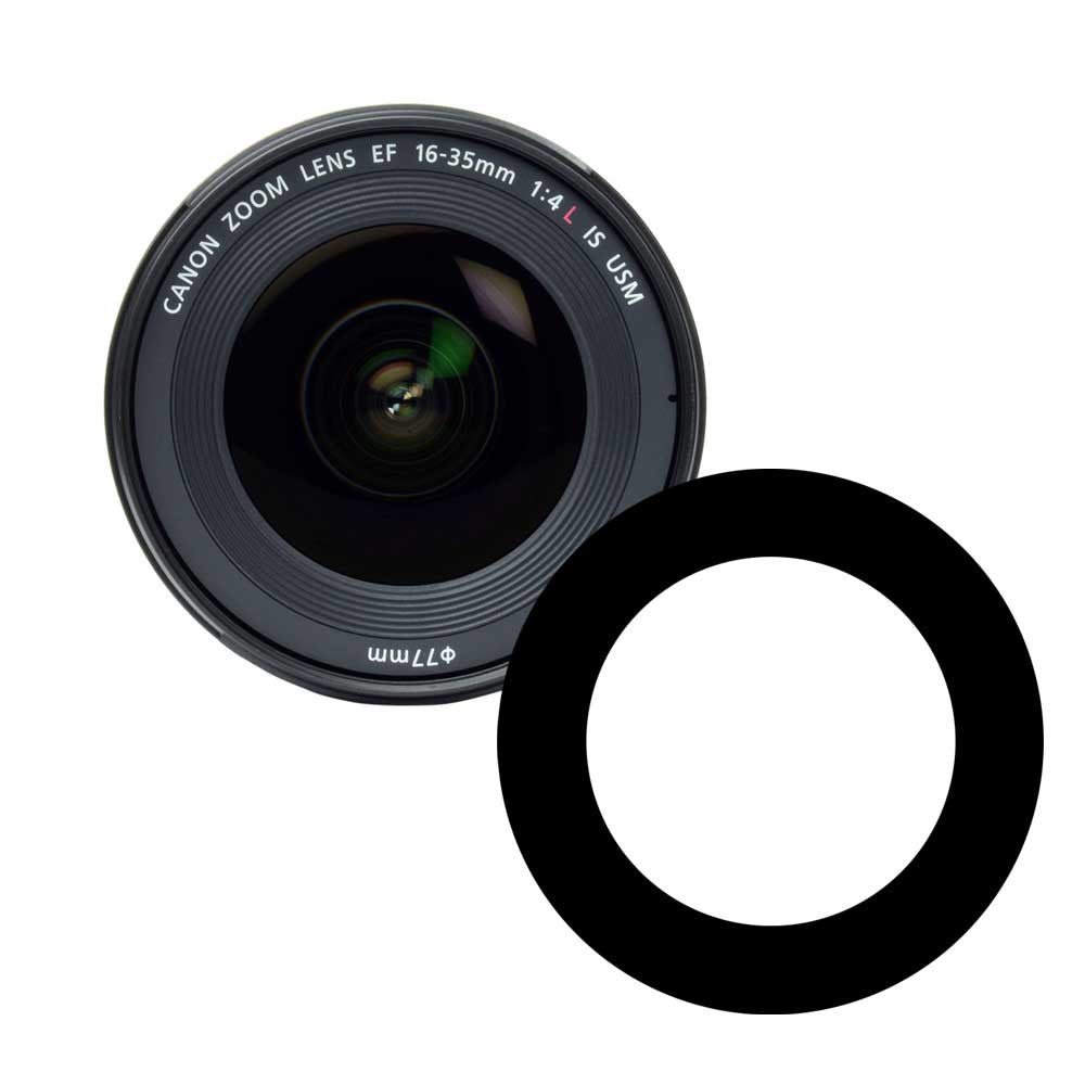 Ikelite Anti-Reflection Ring for Canon 16-35mm f/4 Lens - 0923.01