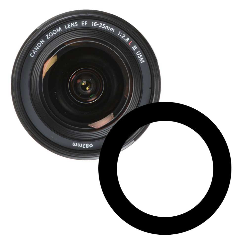 Ikelite Anti-Reflection Ring for Canon 16-35mm f/2.8 III USM Lens - 0923.05