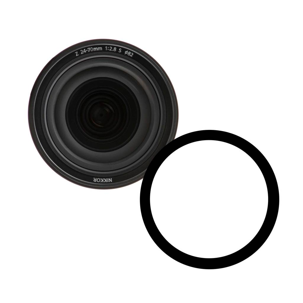 Ikelite Anti-Reflection Ring for Nikon NIKKOR Z 24-70mm f/2.8 S Lens - 0923.33
