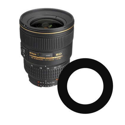 Ikelite Anti-Reflection Ring for Nikon NIKKOR 17-35mm f/2.8D Lens 0923.34