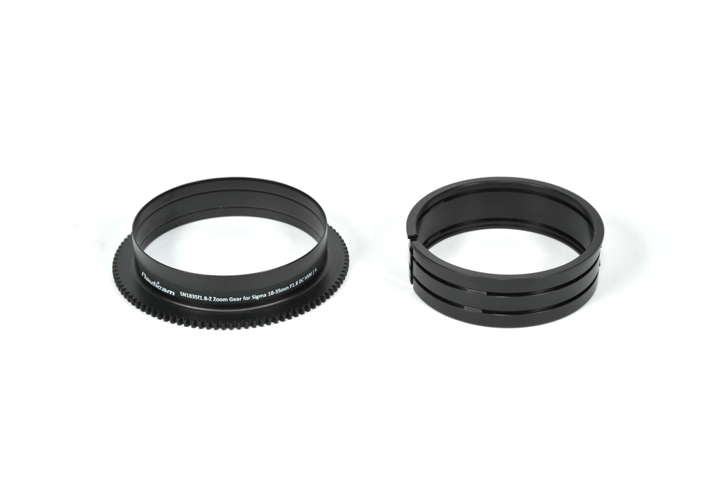 Nauticam Zoom Gear SN1835f1.8-Z for Sigma 18-35mm F1.8 DC HSM | A in Nikon Mount - 19146