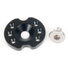Nauticam Accessory mounting base for handle with screws - 25518