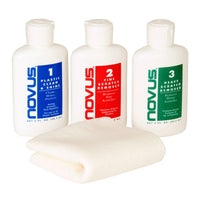 NOVUS Polish 2 oz (59.2 ml) Bottle Set - 6201.32 - Sea Tech Ltd
