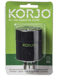 Korjo Adaptor for AU / NZ – FROM EU, US