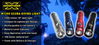 X-Adventurer M1200 Spot Beam LED Light