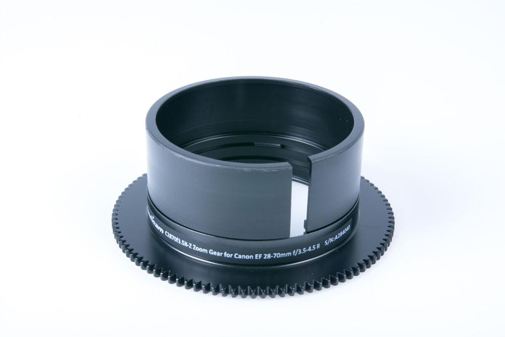 Nauticam Zoom Gear C2870f3.5II-Z for Canon EF 28-70mm f/3.5-4.5 II - 19557