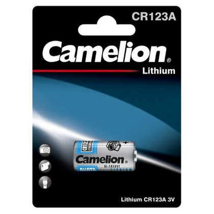 Camelion CR123A/CR17345 Lithium Battery