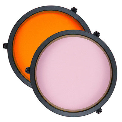 Ikelite Color Correcting Filters for green & blue water - 2.2 in, 3 in, 3.6 in, 3.9 in, 4.2 in & DSLR flat port - Sea Tech Ltd