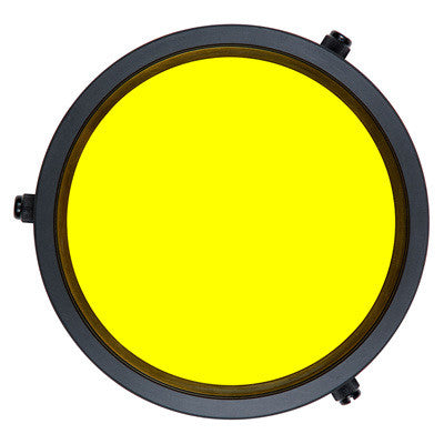 Ikelite Yellow Barrier Filter - 3 in, 3.6 in, 3.9 in - Sea Tech Ltd