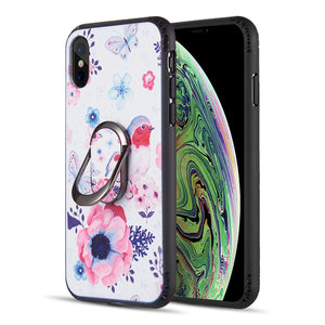 IPHONE XS MAX Case w/ 360 DEGREE ROTATABLE RING STAND