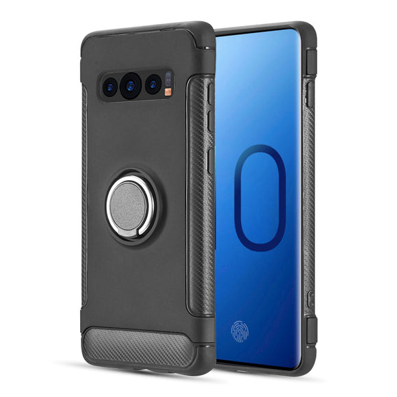 SAMSUNG GALAXY S10 CARBON EDGE SPORTS HYBRID CASE WITH CIRCO MAGSTAND