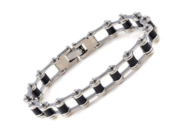 Men's Stainless Steel Bicycle Classic Chain Bracelet