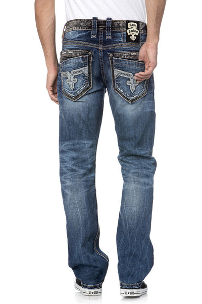 Wales Rock Revival Straight Jeans