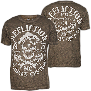 Affliction Hollywood Hellraiser SS