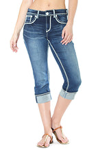 Criss-Cross Easy Fit Capri