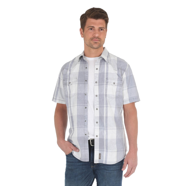 Alex Retro Snap Shirt