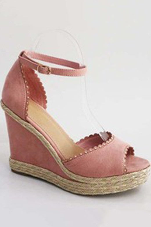 Dusty Blush Espadrille