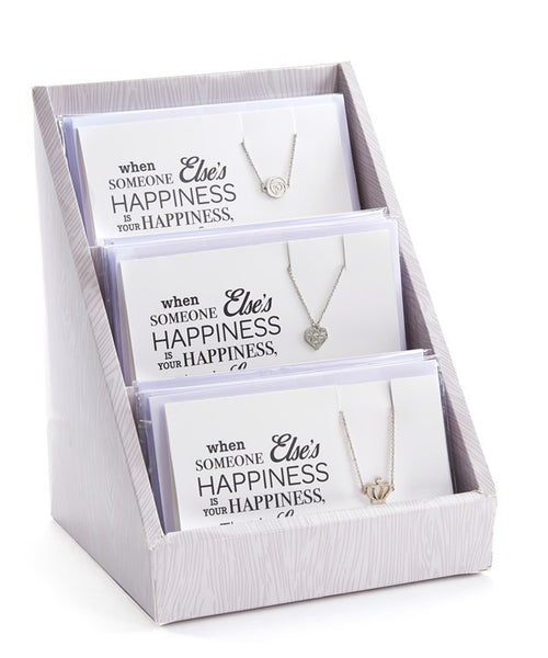 Love Greeting Card Necklace