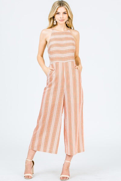 Creamsicle Jumpsuit
