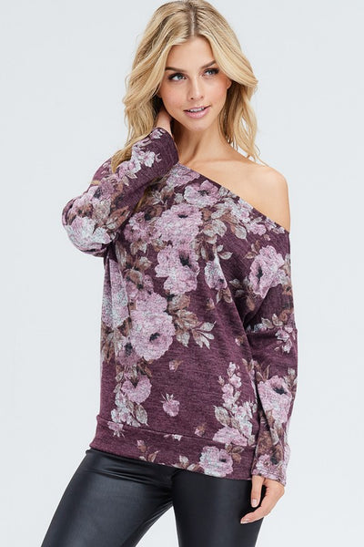 Floral Off The Shoulder