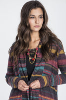 Miss Me Lucky Stripes Cardi