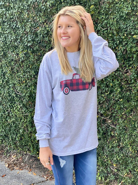 Buffalo Plaid Truck Longsleeve