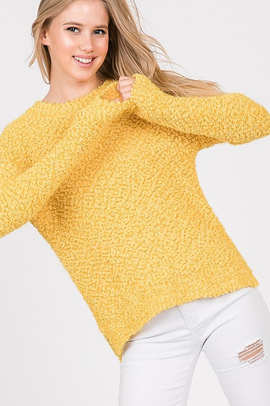 Comfy Yellow Sweater