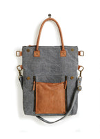 Fold Over Convertible Tote