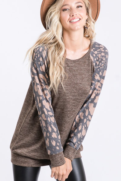 Fall Mocha Sweater