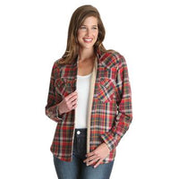 Sherpa Flannel Jacket