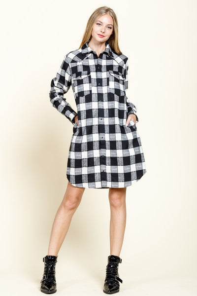 Fall Festival Shirt Dress