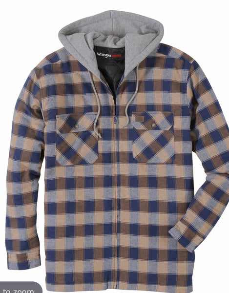 Workwear Hooded Flannel