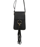 Tassel Phone Crossbody