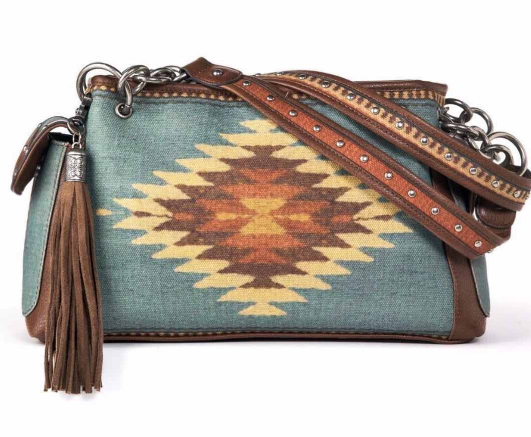 Aztec Conceal Carry Satchel