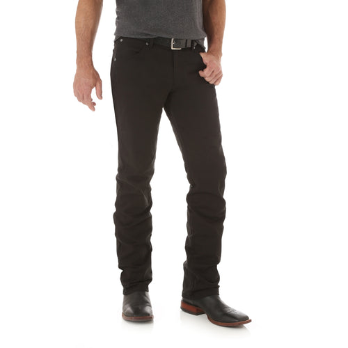 Black Retro Slim Straight