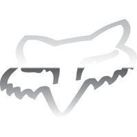 4 inch Fox Head Decal