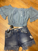 Summer Blues Top