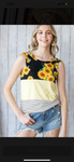 Sunflower Summer Tank