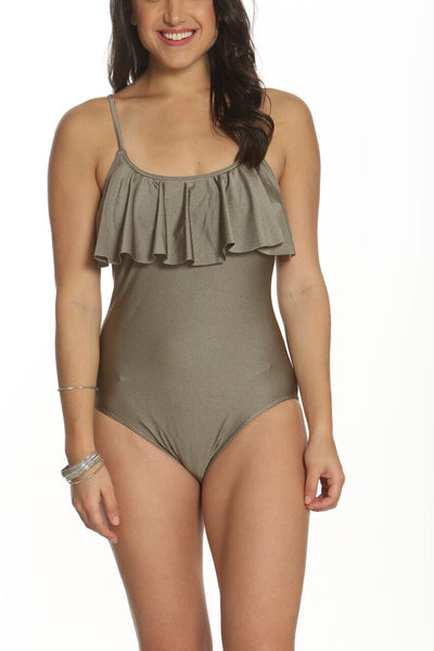 Metallic Bronze One Piece
