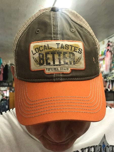 Local Tastes Better Hat