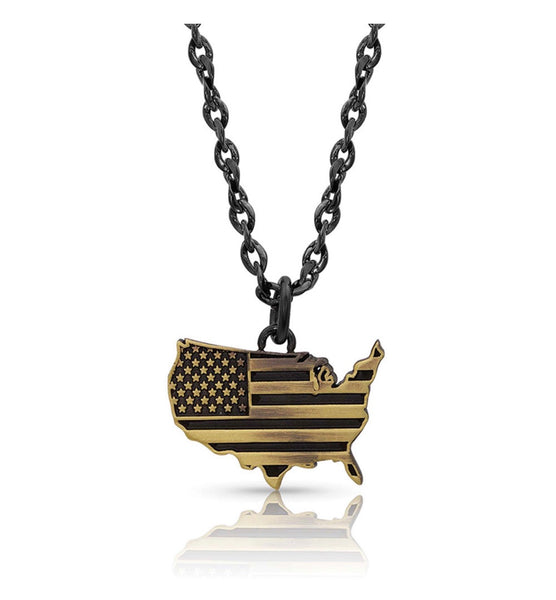 Home Of The Brave Necklace