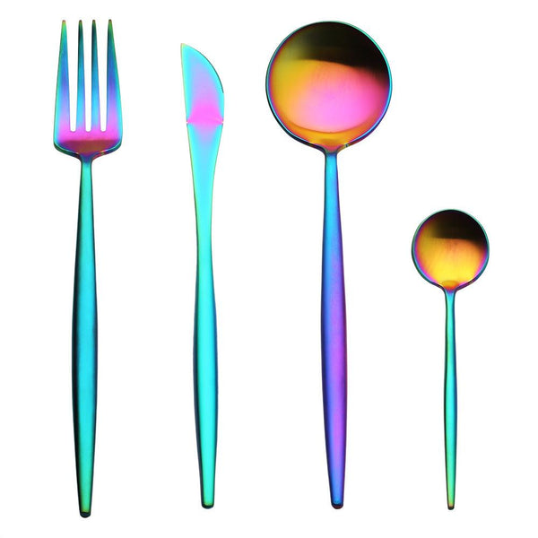 Aenyx 1 Set RainbowSteel™ Silver Kitchenware