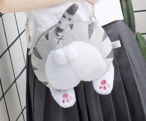 Aenyx A Fluffy Cat Butt Bag