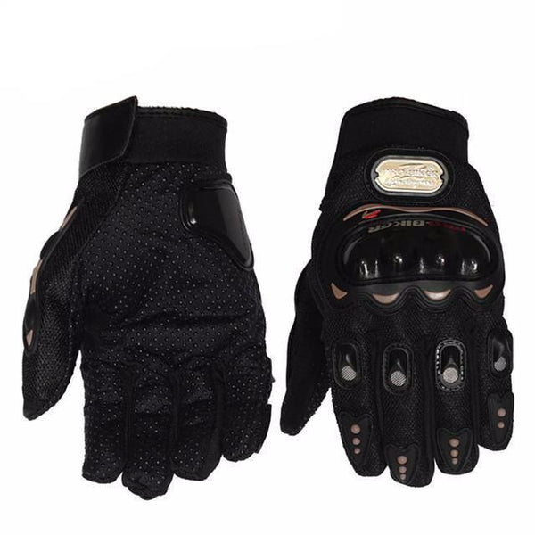 Aenyx Black / L Motorcycle Protective Full-Finger Gloves