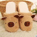 Pink Pig Slippers, Aenyx,