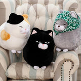 Fluffy Fat Cat Cushions, Aenyx,